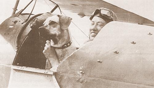 Ida Veldhuyzen met haar RR Pegasus